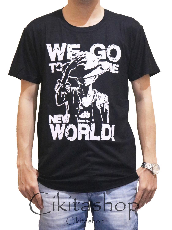Cikitashop - Kaos T-Shirt Distro / Kaos Pria / T-Shirt Pria Anime