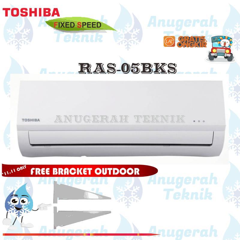Toshiba AC Split 1/2 PK R410A Fix Speed Non Inverter - RAS-05BKS