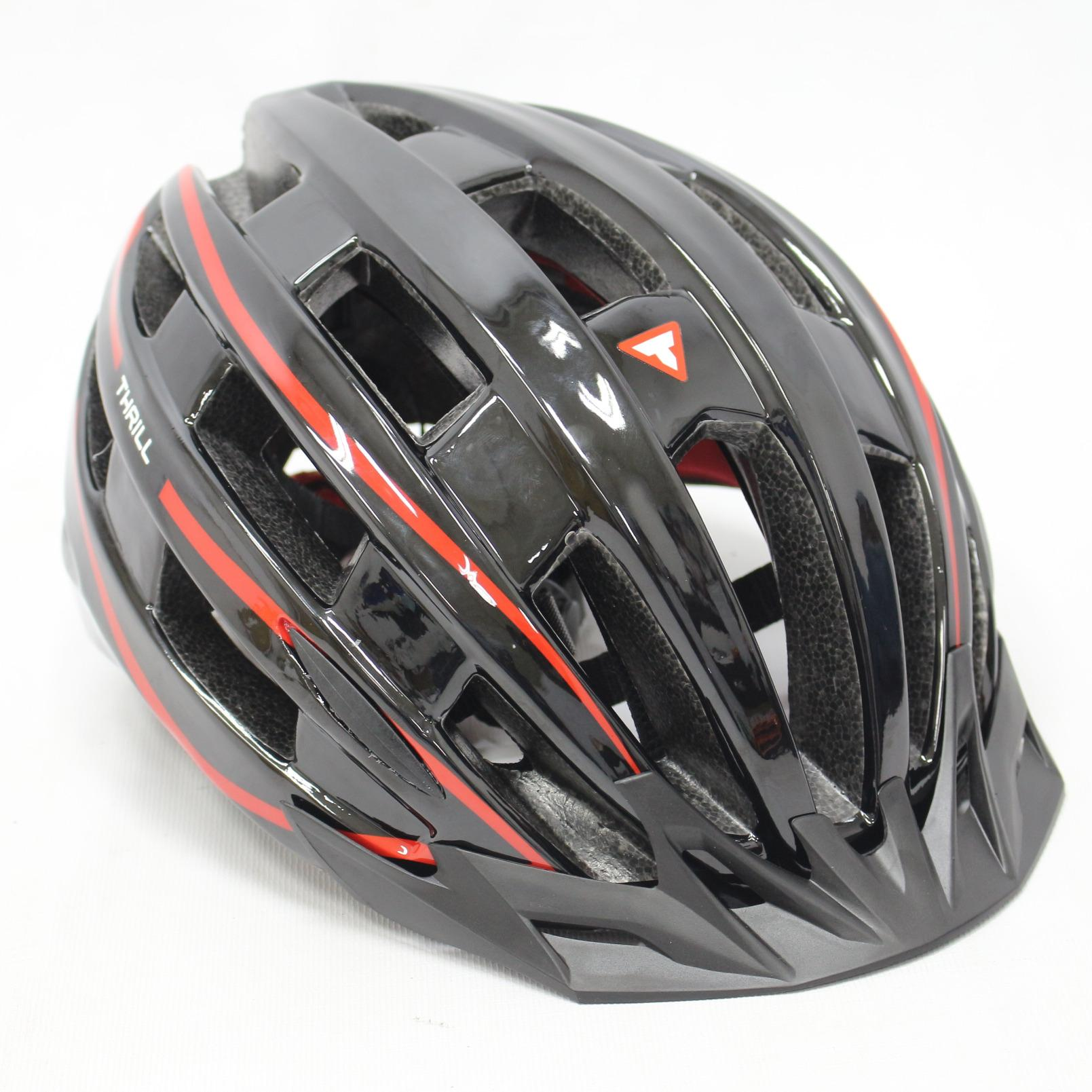 HELM SEPEDA MTB THRILL SPACE BLK RED