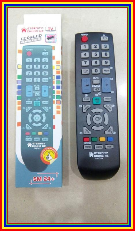 Remot Remote Tv Samsung Lcd Led Plasma Multi Universal Serba Guna Sm21