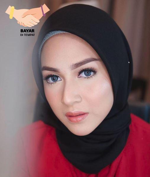 Kerudung Hijab Artis Segiempat Basic - Black