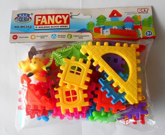 FANCY BUILDING BLOCK SERIES - MAINAN EDUKASI ANAK