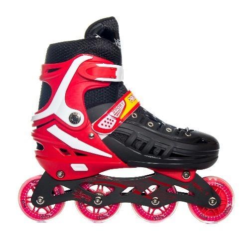 Power Line Sepatu Roda Inline Skate HB22 - Merah