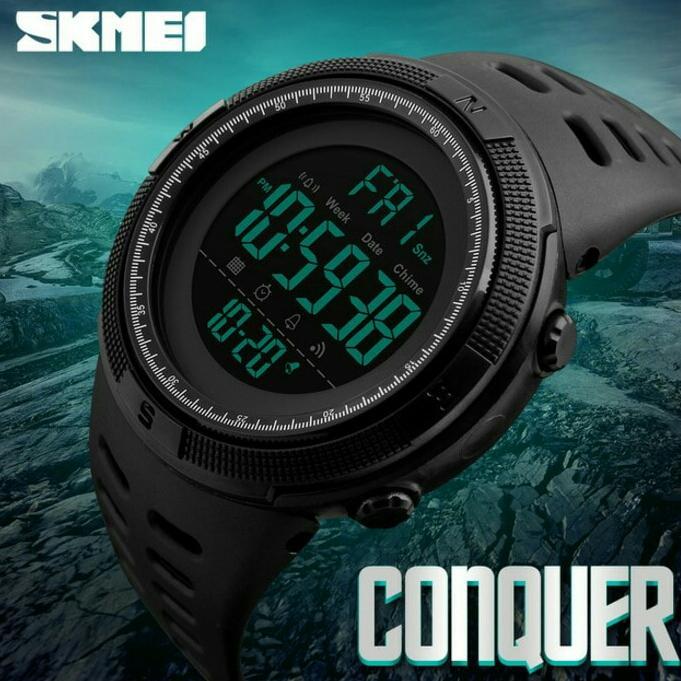 jam tangan pria sport SKMEI 1251 Original- Sunto eiger