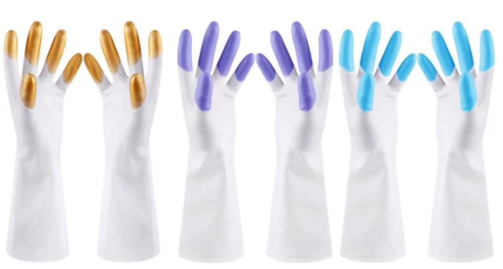 HPR088 Sarung Tangan Karet Cuci Piring Anti Air Rubber Glove | Ungu