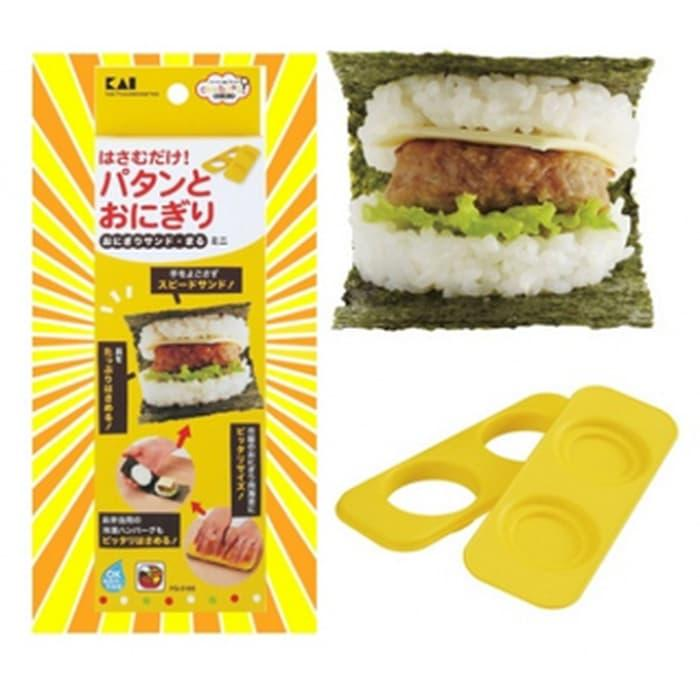 Rice Ball Sand Circle Mini BENTO CETAKAN NASI BURGER TOOLS ALAT CETAK