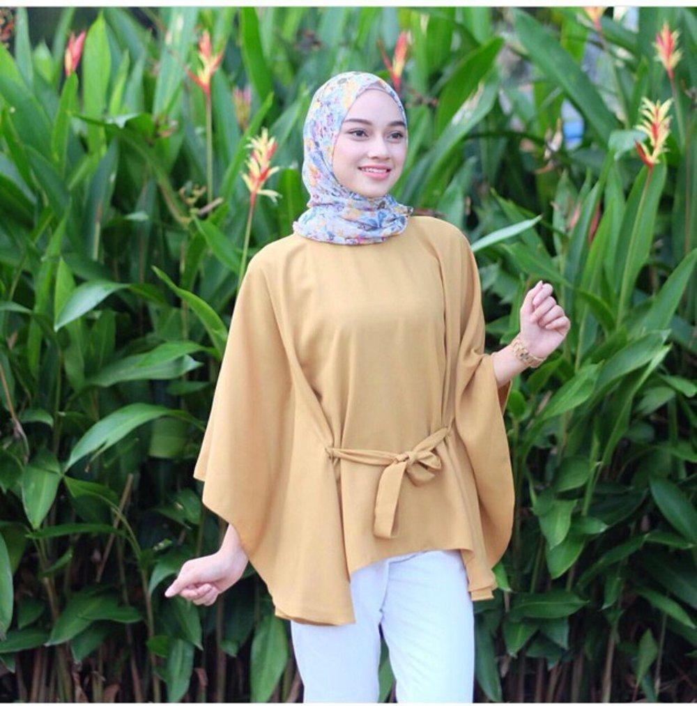 Atasan Wanita - Clove Blouse - Tunik - Baju Muslim - Blus Muslim