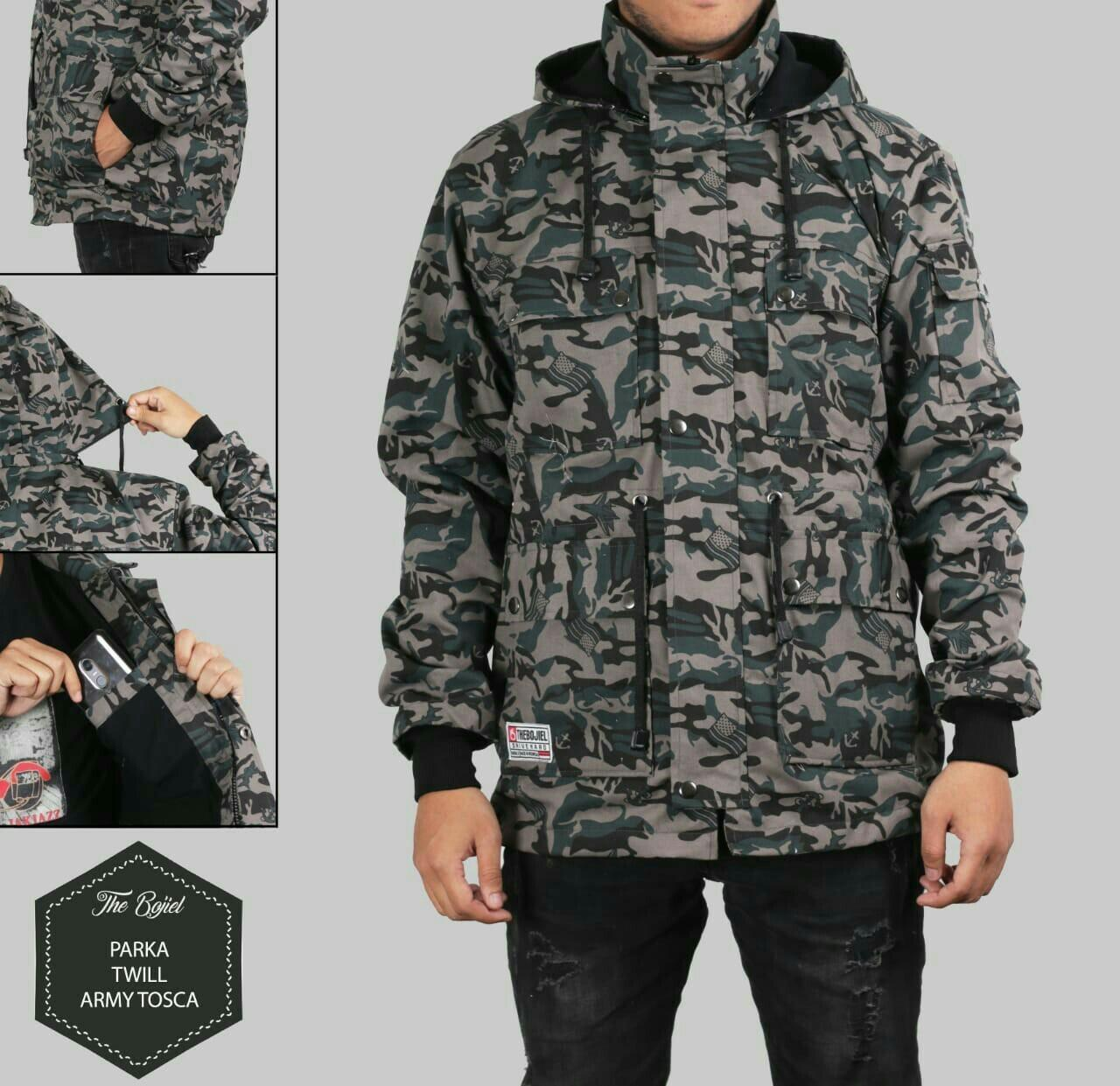 Buy Sell Cheapest Hoodie Parka Canvas Best Quality Product Deals Jaket Wanita Cerruty Army