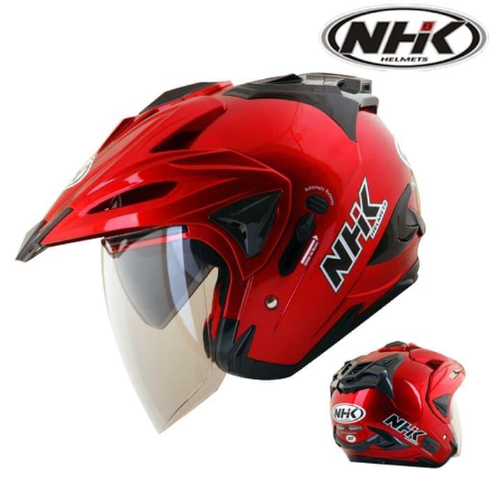 HELM NHK GODZILLA SOLID (BEST SELLER) || helm kyt / helm bogo / helm full face / helm ink / helm sepeda /helm motor/helm nhk/helm retro/helm anak/helm gm