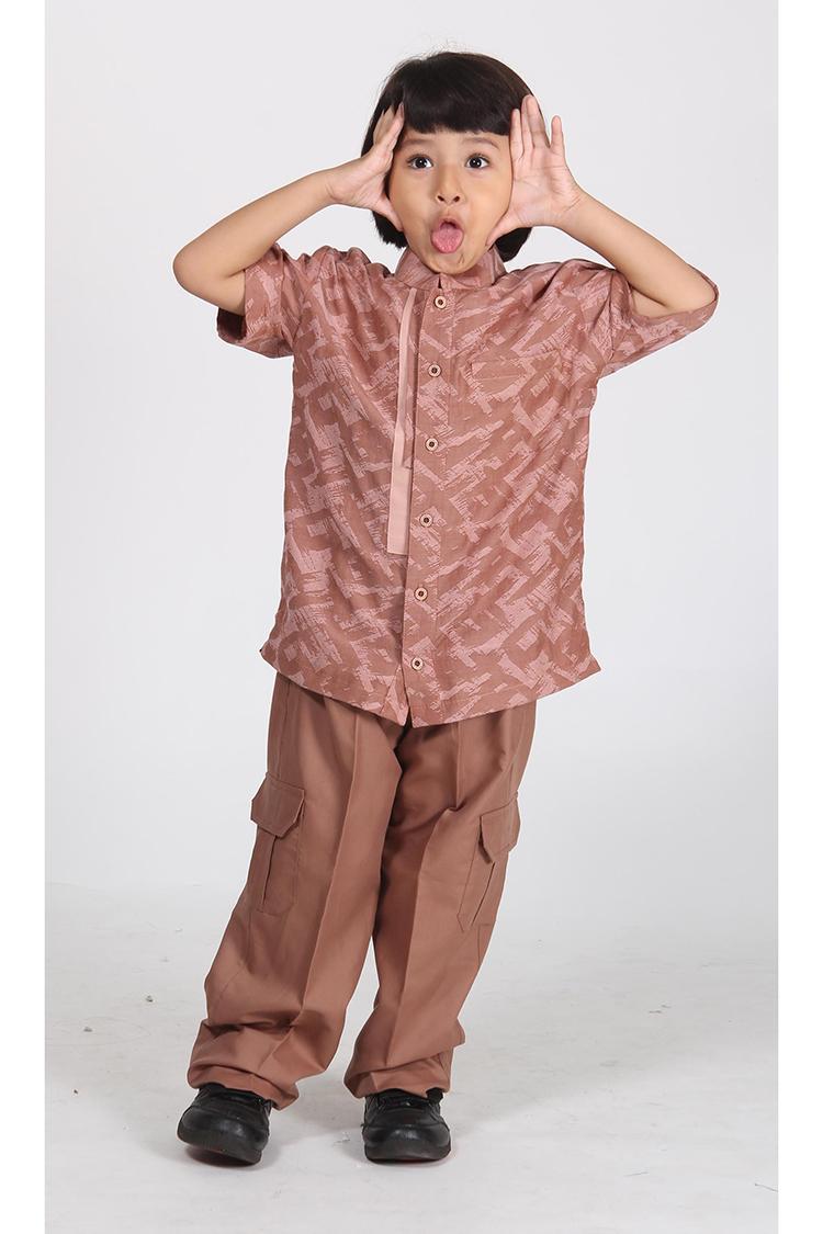 Ethica Moslem Fashion Koko Anak Majma Kids 05 (Coklat)