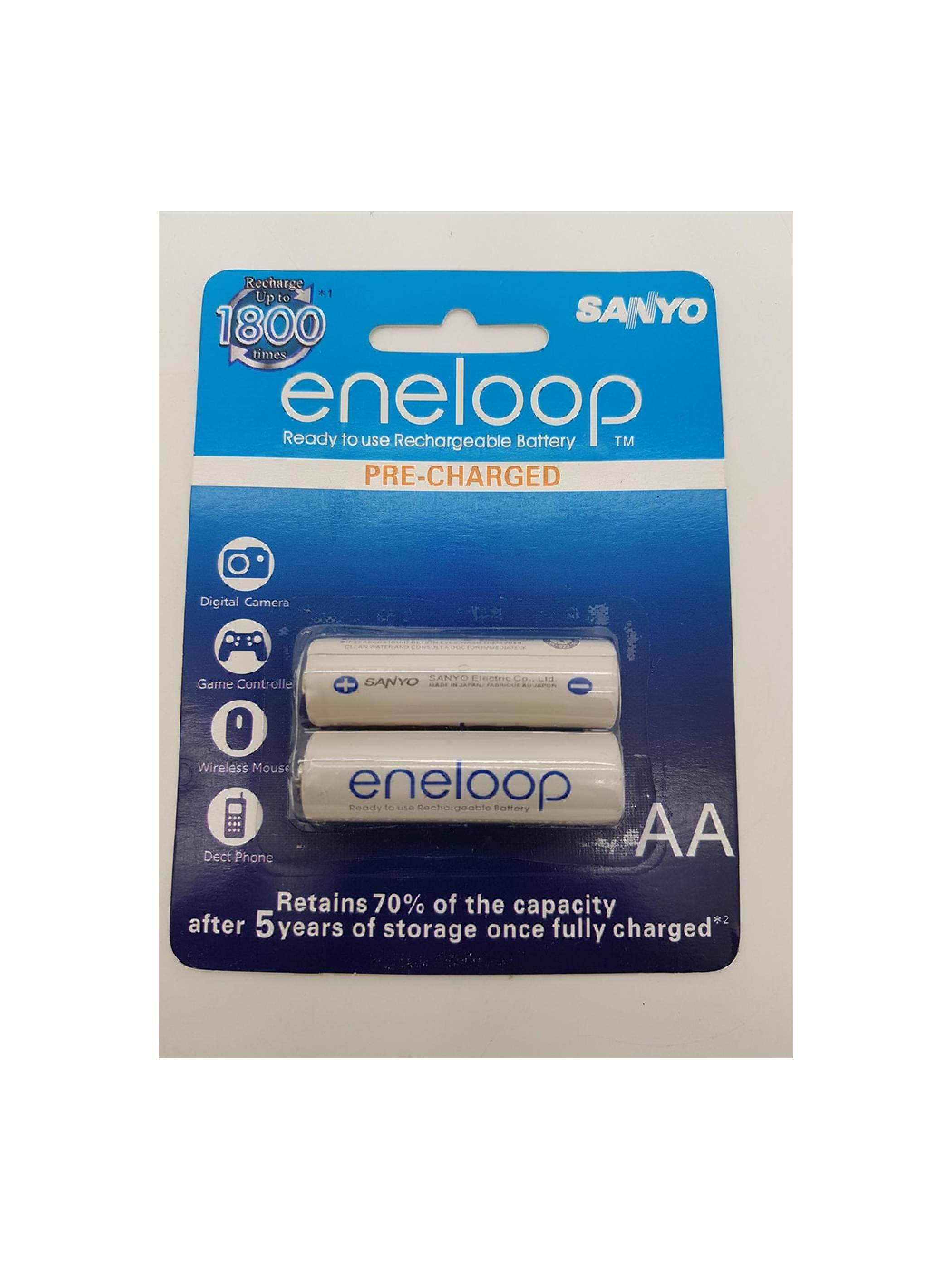 Baterai Cas SANYO eneloop AA 2000mAh 1 2v Battery