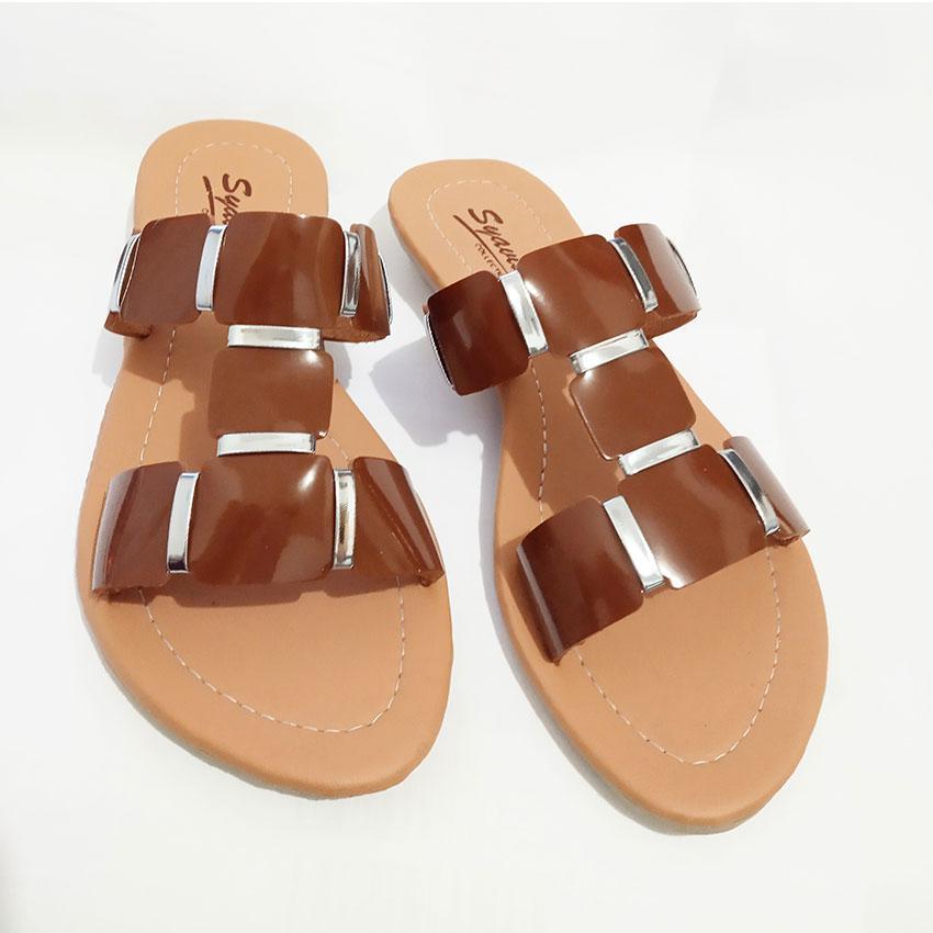 Sandal Kokop Wanita AGS-06 Coklat