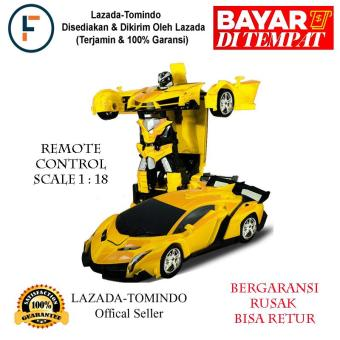 Harga Preferensial Tomindo Mobil Remote Control Rc Autobot Kuning