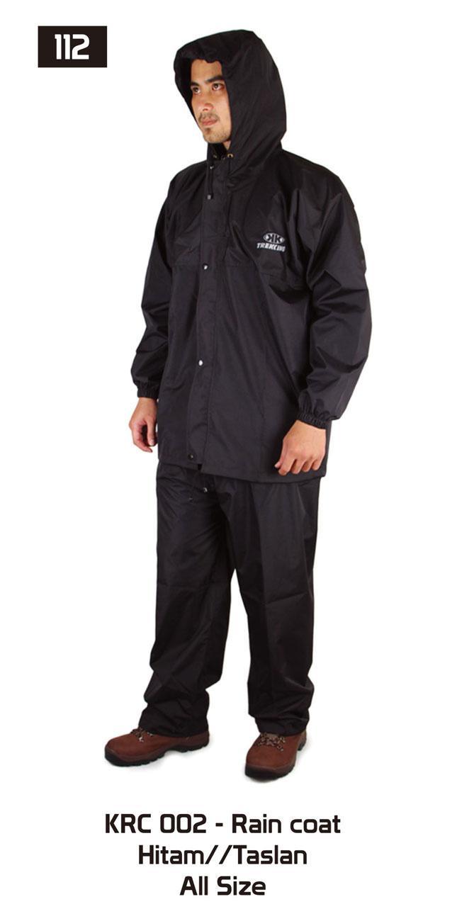 Jas Hujan Branded Bandung Berkualitas / Rain Coat - AKRC 002 WTS