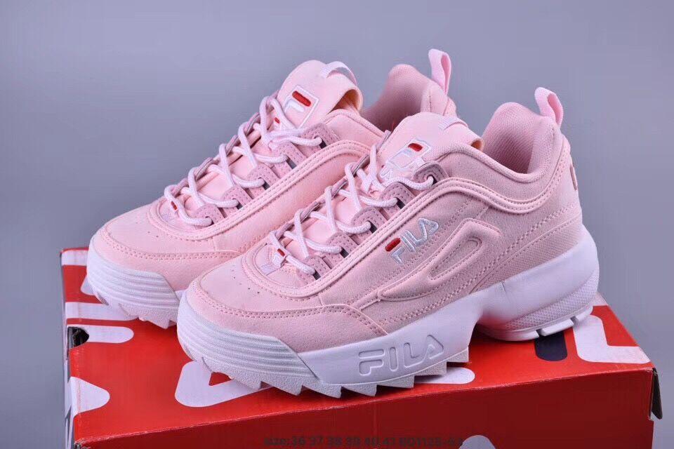Diskon KW Korea Sepatu Fila /Sepatu Fila White Ladies Sneakers Fashion Cewek Cewe Sport Putih Women