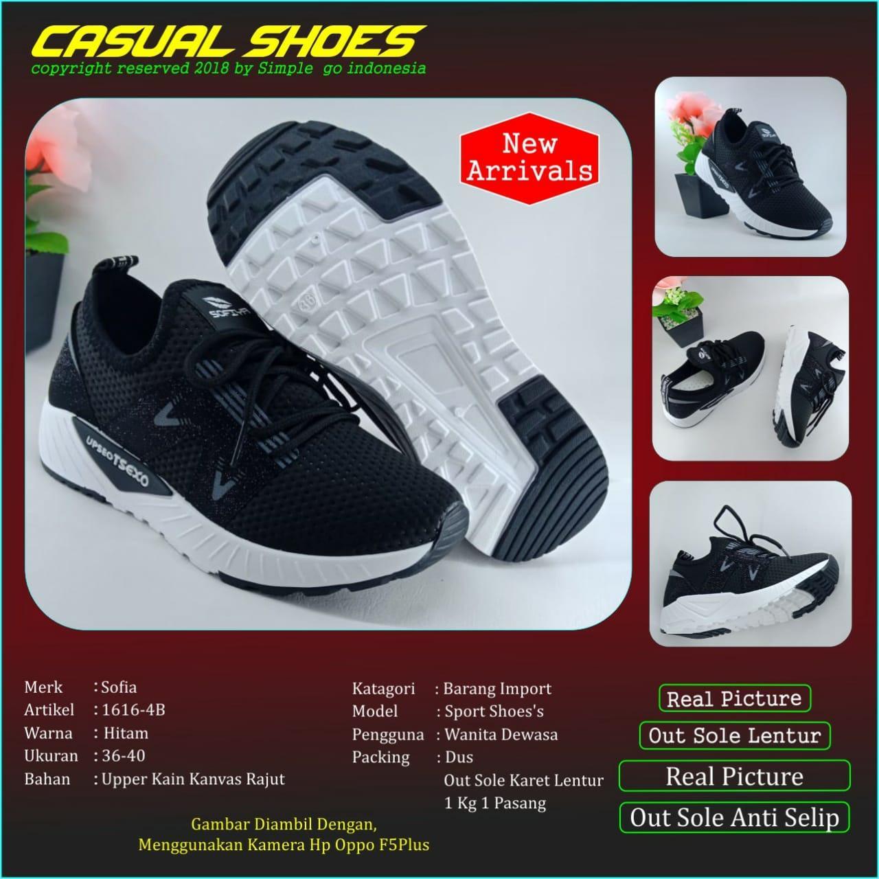 Sofiya 1616 -4 sepatu olahraga wanita import 36-40