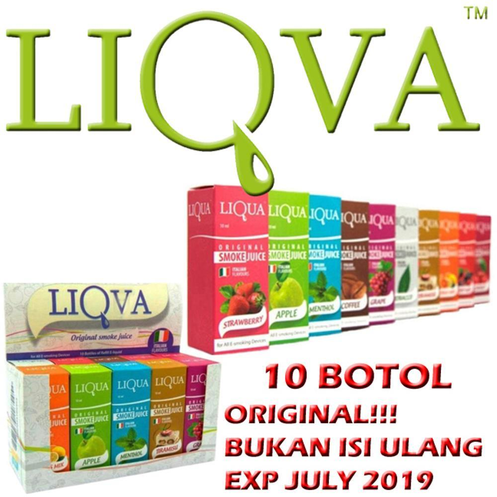 Liquid Liqva Italian Flavour Premium E-Liquid Refill 10ml 10 Pcs