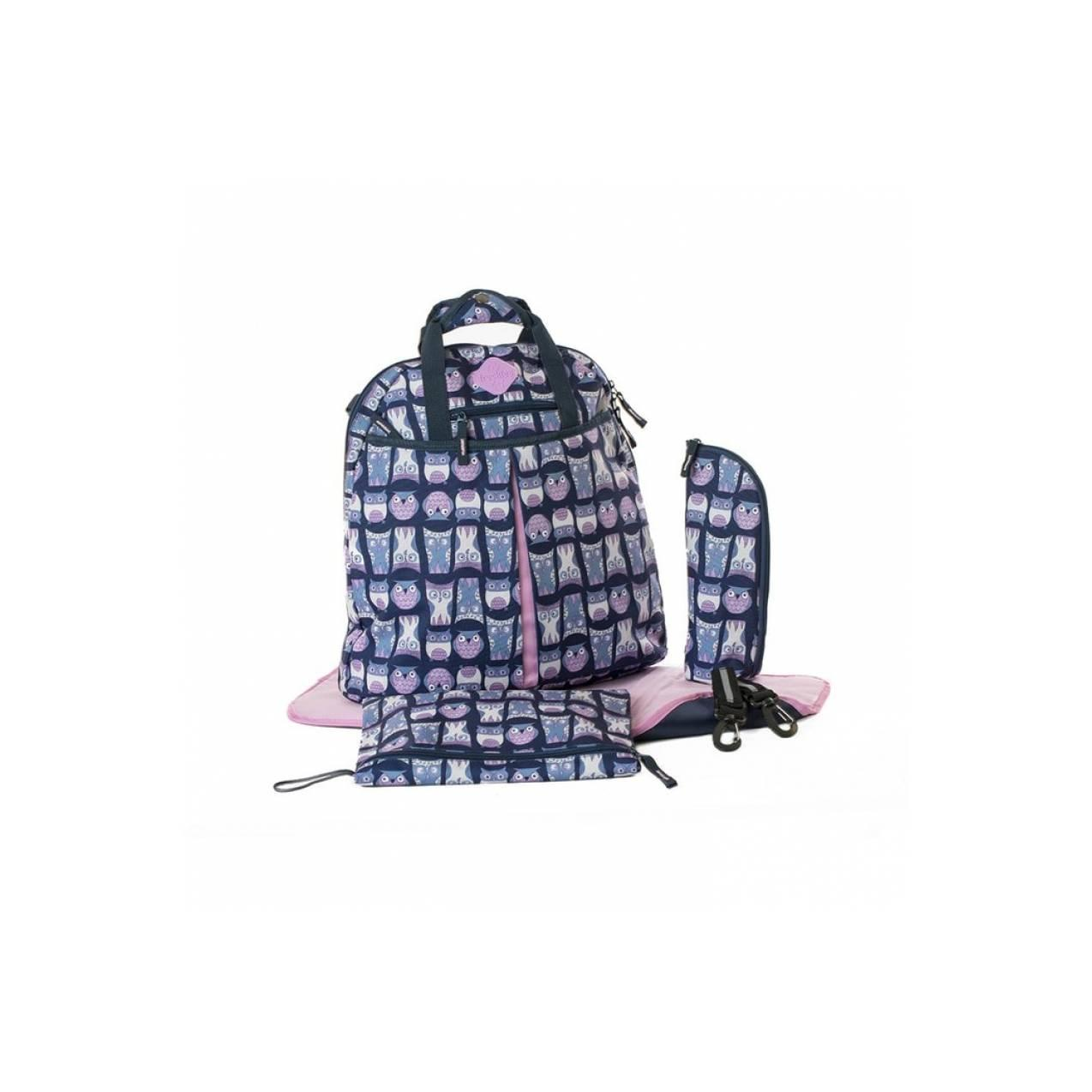 Buy Sell Cheapest Tas Okiedog Yukon Best Quality Product Deals Mondo Tweet Beige Taupe Bayi Freckles Backpack Owl Blue Pink