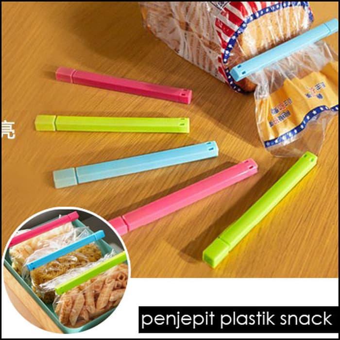 Seal Segel Jepit Penjepit Plastik Snack Makanan Camilan (PANJANG)