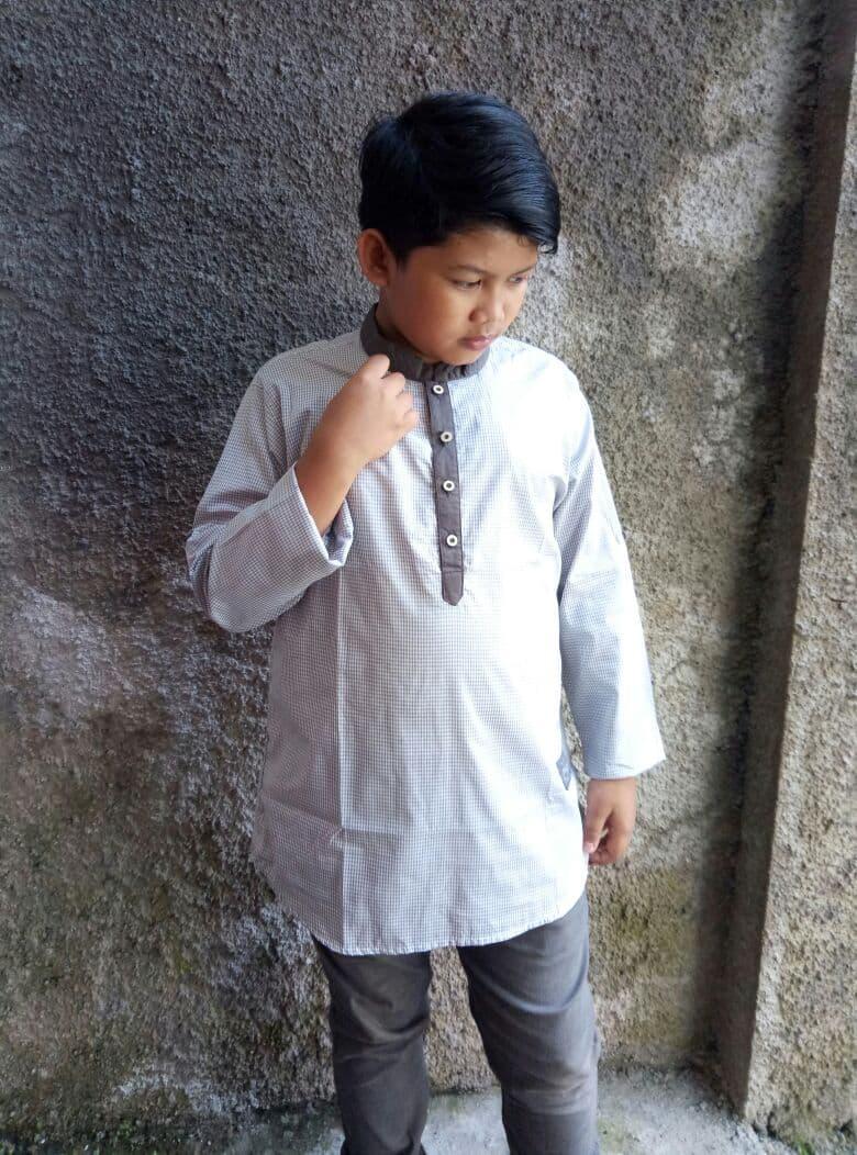 Baju atasan kemeja baju koko baju gamis anak remaja pria laki ZHAF