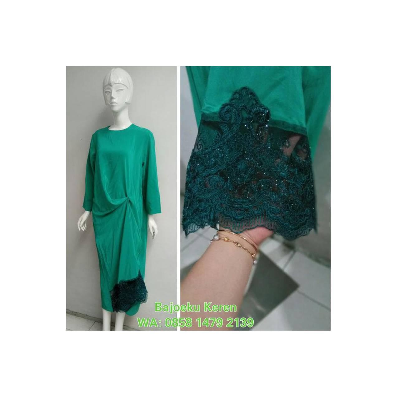 Dijual Kaftan Long Dress Gamis Bridesmaid Dress Jasa Jahit Unique