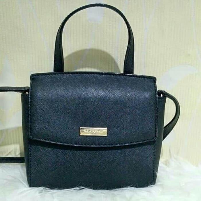 Tas Kate Spade Mini Alisanne Black Leather Original