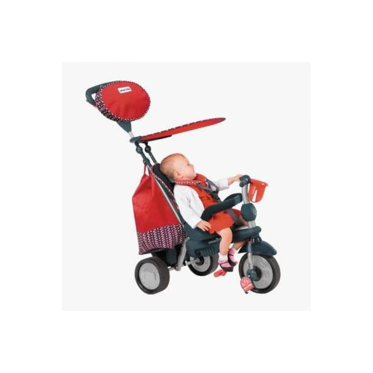 SMART TRIKE SPLASH RECLINER 5IN1 RED Murah