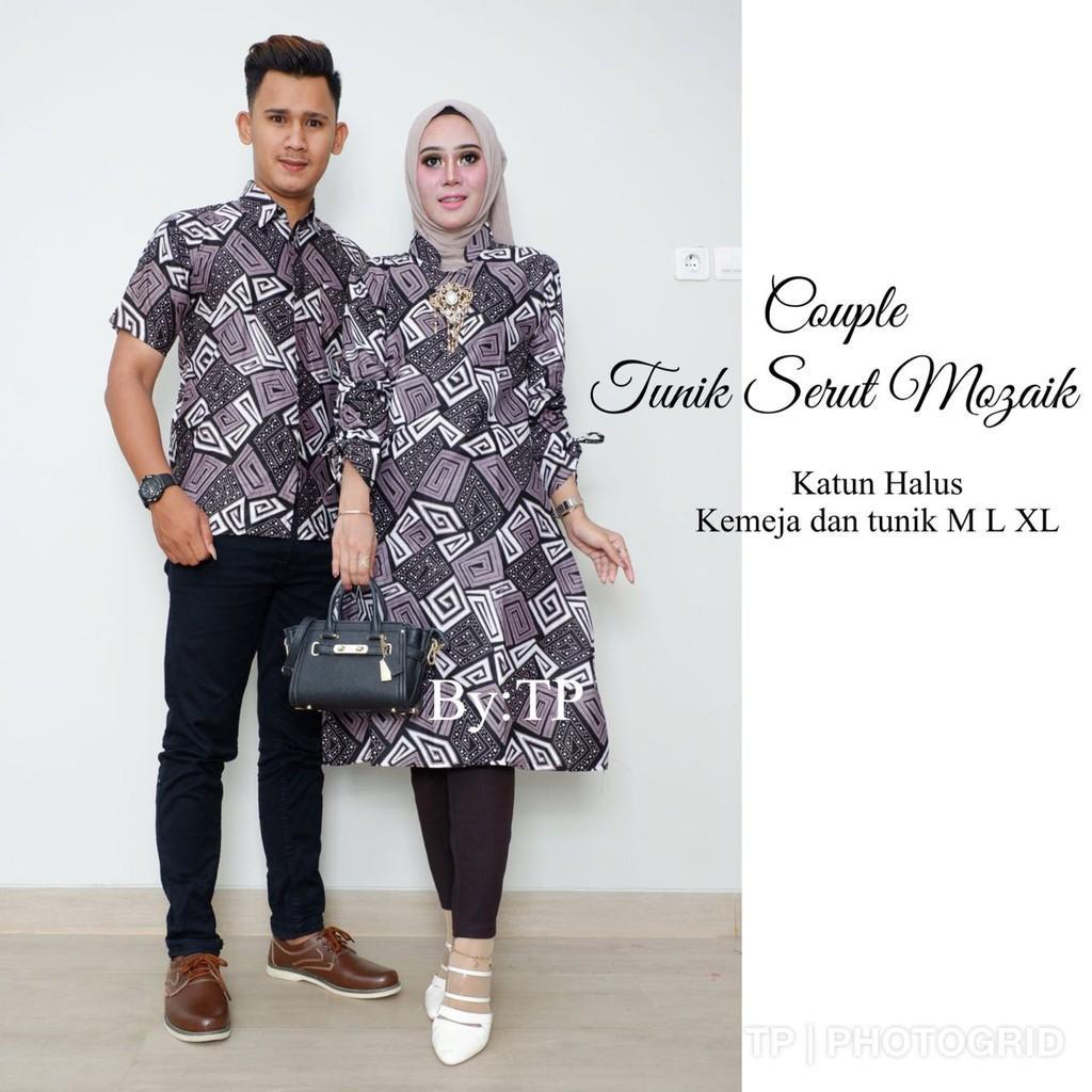 Batik Sarimbit Muslim Stelan 640 Baju Batik Murah Batik SoloIDR50000. Rp  50.000 86ea6a988c