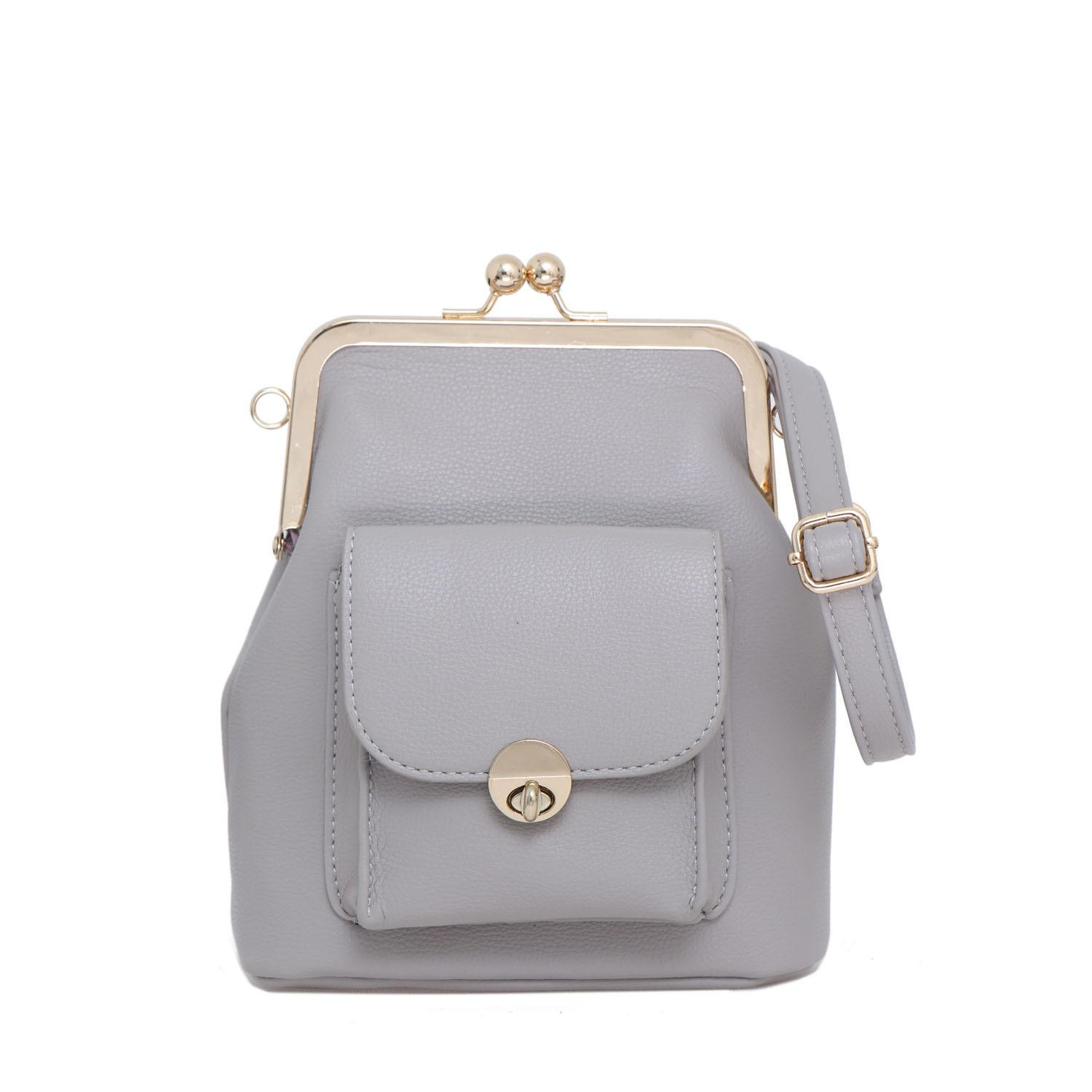 Lorica by Elizabeth Najah Backpack Grey