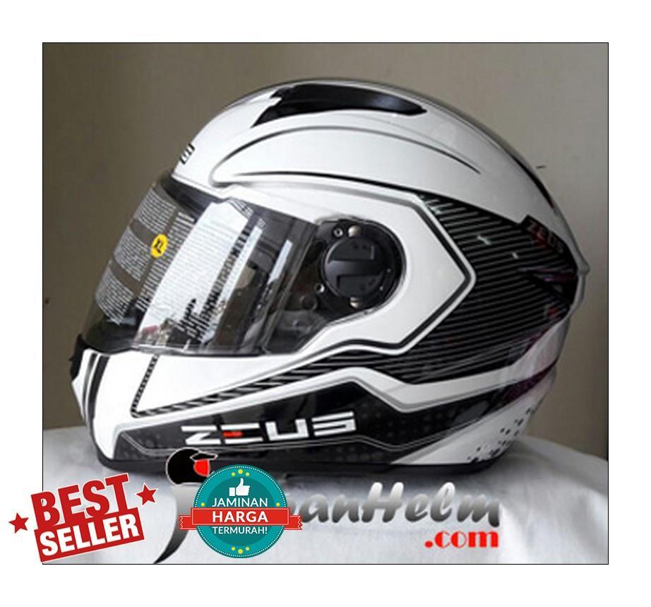 Jual Zeus Helm Fullface Murah Garansi Dan Berkualitas Id Store 811 White Black Green Al3 M L Xl Zs811 Al12 Fullfaceidr832000 Rp 832000