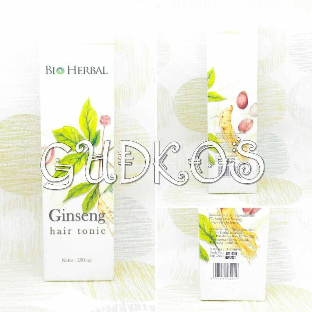 Buy Sell Cheapest Bio Herbal Hair Best Quality Product Deals Indonesia Shampoo Ginseng Shampo Bpom Tonic