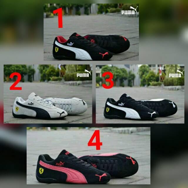 Sepatu Woman Sneaker Wanita Puma Ferrari Cewek