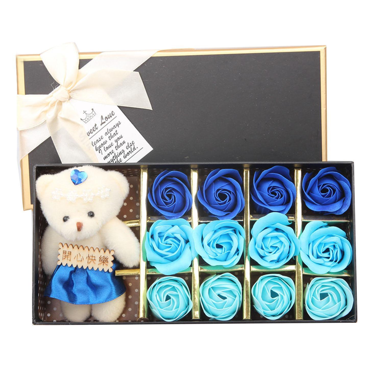... Beruang Ulang Tahun Hadiah Hari Valentine- Internasional -. Source · Rp 83.000. Set 12 Pcs Flora Scented Tubuh Indah Bath Bunga Mawar Sabun dengan Cute