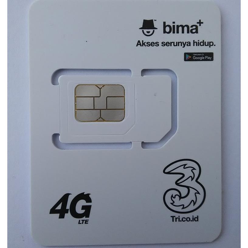 TRI USIM 4G Upgrade Nomor TRI Lama dari 3G ke 4G.