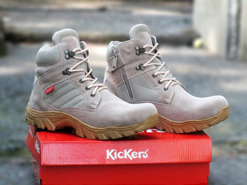Promo Sepatu Boots Safety Kickers Delta Fashion