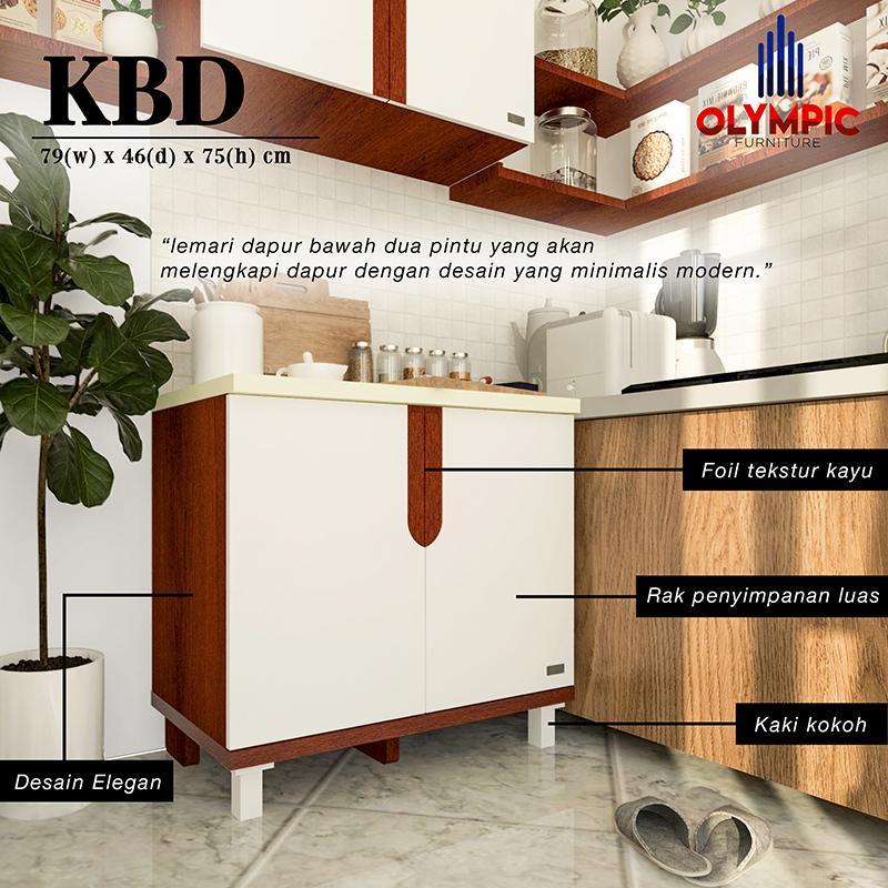 Olympic Kitchen Tertris Series Meja Lemari Dapur / KBD0111095