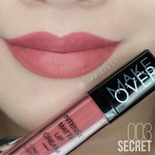 Make Over Intense Matte [003] Lip Cream - Secret thumbnail