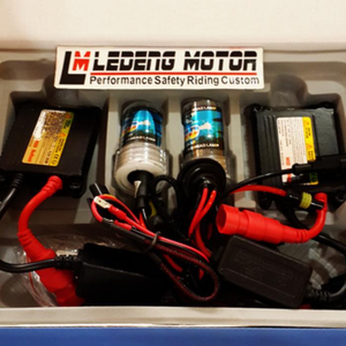 Lampu Utama Mobil HID Xenon H1 Ballast DC Slim 35 watt