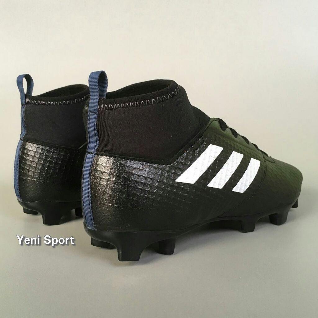 Sepatu Bola Anak Adidas Ace Boots Black
