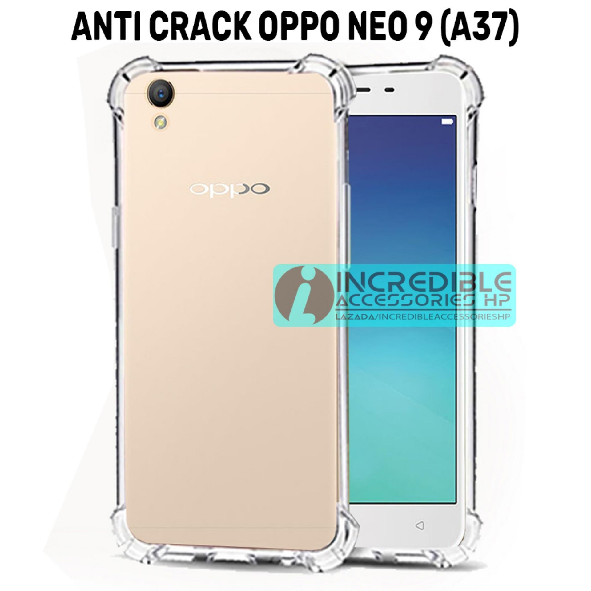 Softcase Silicon Anti Shock / Anti Crack Elegant Softcase  for Oppo Neo 9 / Oppo A37 - White Clear