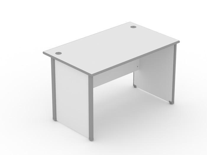 Promo  Meja Kerja / kantor UNO CLASSIC SERIES Grey Uk 160 x 75 x 75  Original