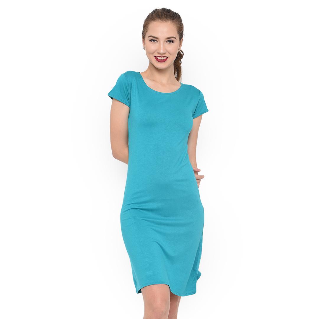 Ace Fashion Dress Wanita Smile Jumbo Tosca Spec dan Daftar Harga Source · LEMONE Tumblr Tee T shirt Dress Cewe Spandek Premium Baju Wanita 12100027 Tosca ...