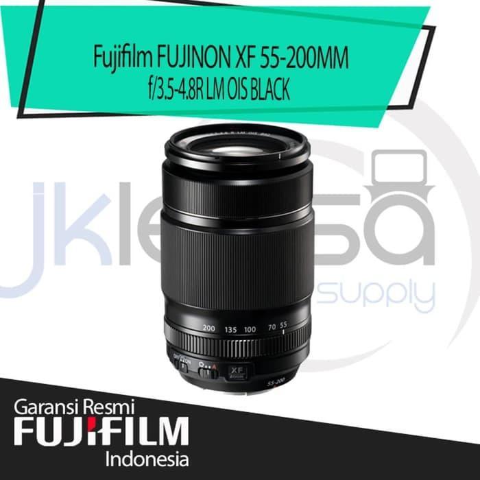 Fujifilm Fujinon XF 55-200mm f/3.5-4.8 Lensa Kamera - Hitam Jklensa Garansi Resmi Fujifilm