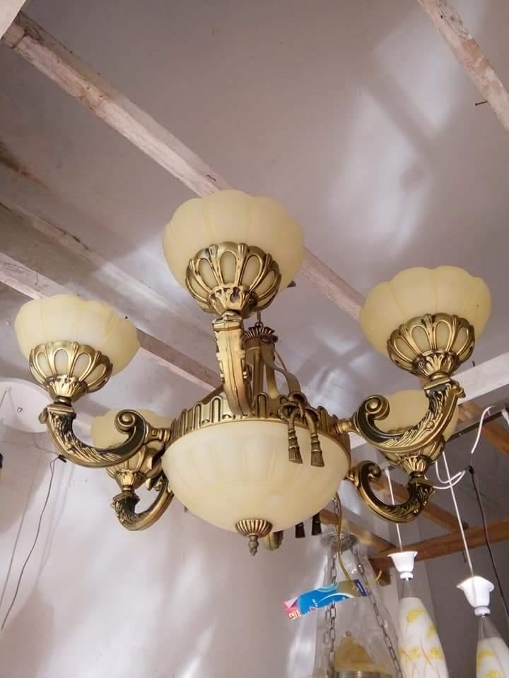 Lampu gantung minimalis antik cabang