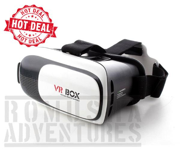 VR Box 2.0 Virtual Reality Smart Glasses Kacamata Virtual Hp 360