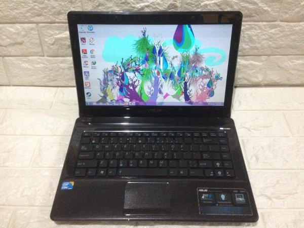 Laptop Asus A42F Core i3 Ram1gb Hdd320gb Normal