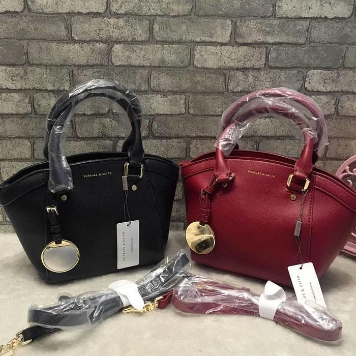 HOT SPESIAL!!! Tas Charles and Keith Oval - ZBt1wm