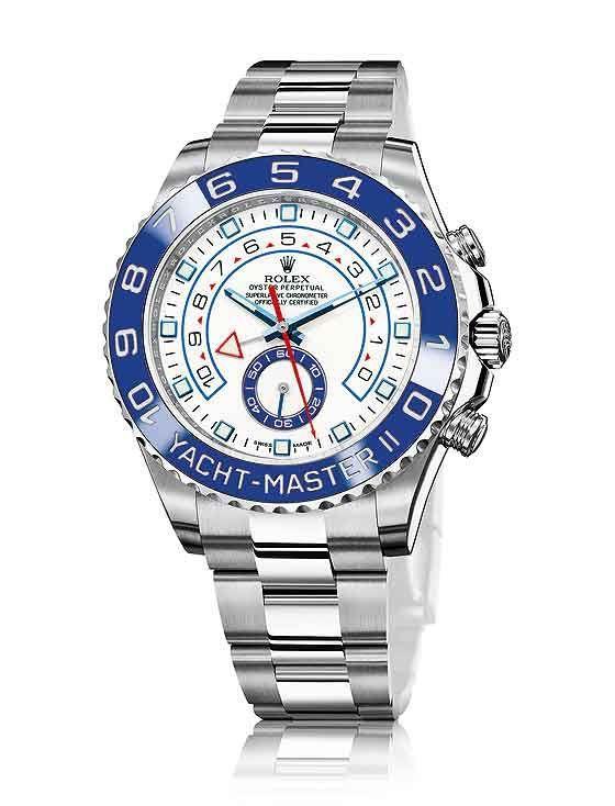 Jam Rolex Yacht-Master II Blue Ceramic Automatic / Silver - Bergaransi
