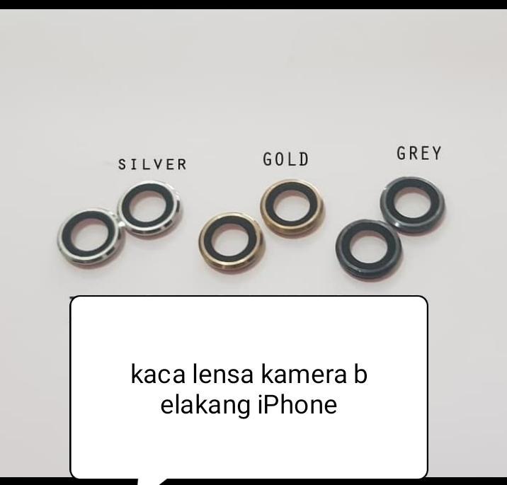 Ring lens/kaca lensa kamera belakang iPhone 6plus/+original