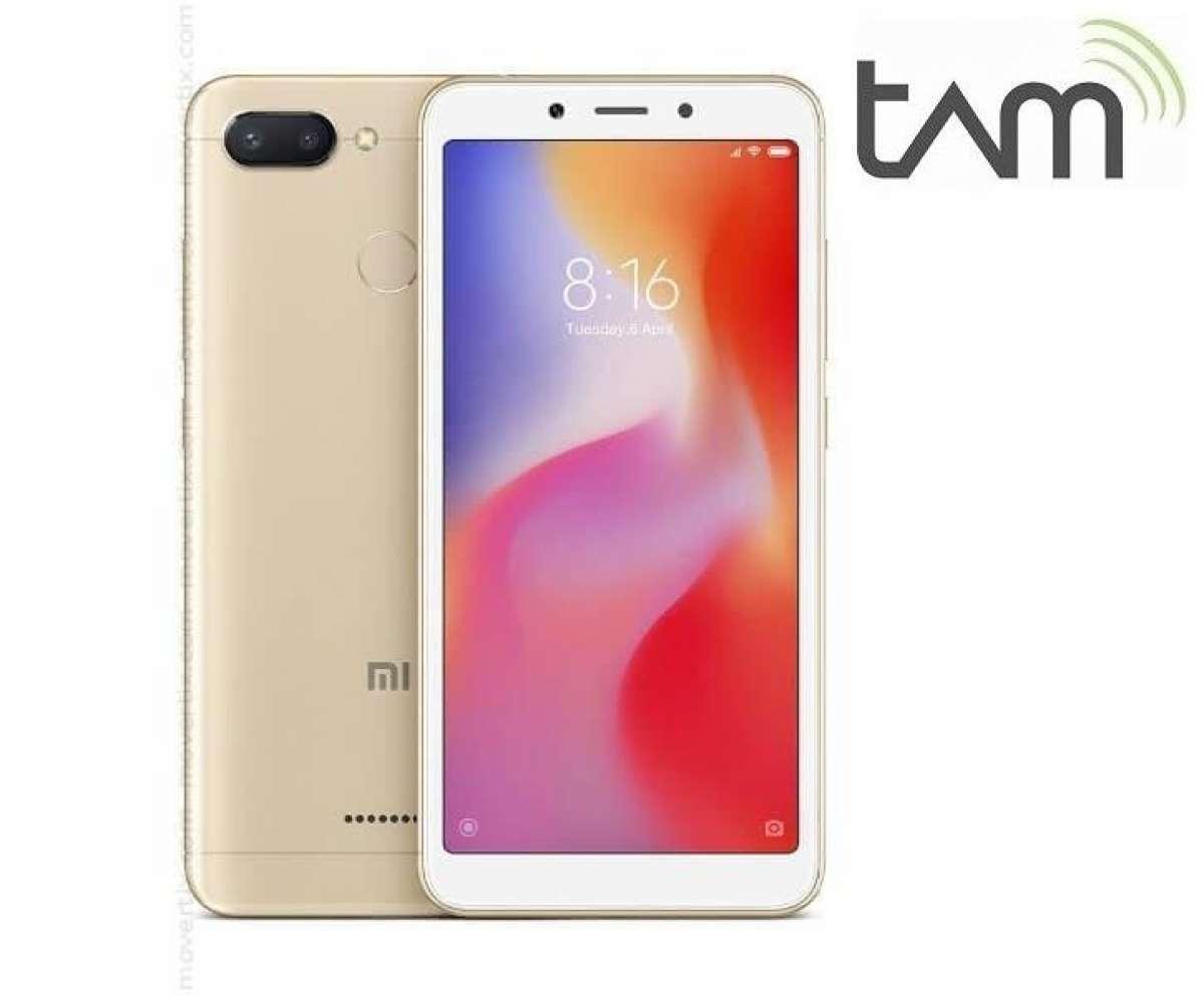 Xiaomi Redmi 6 3/32GB - Garansi Resmi TAM 1 Tahun